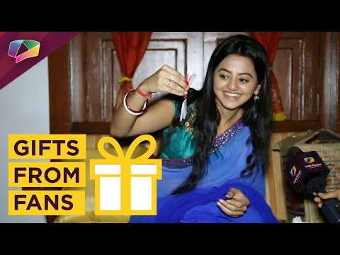 Helly Shah receives gifts from her fans with get w