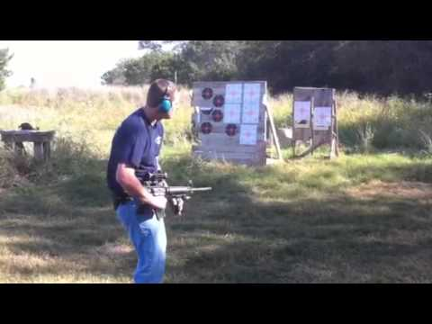 JLITM109R - AR 15 BUMP FIRE ATTEMPT. JLIT STYLE/MAKE SURE MAGAZINE IS INSERTED COMPLETELY.