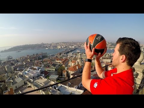 Watch These Guys Make Epic Basketball Trick Shots All Around Istanbul
