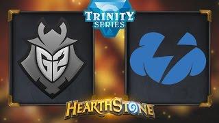 Hearthstone - G2 Esports vs. Tempo Storm - Hearthstone Trinity Series - Day 14