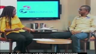 Interview with Bola Akindele, GMD Courteville Business Solutions PLC, on 101 Business (Part 1)