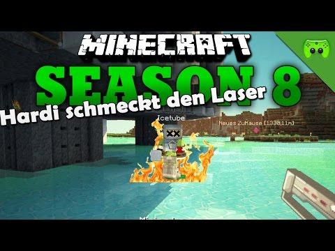 HARDI SCHMECKT DEN LASER «» Minecraft Season 8 # 66 | HD