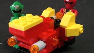 Đồ chơi LEGO siêu nhân hải tặc. Power Rangers Super Megaforce Toys