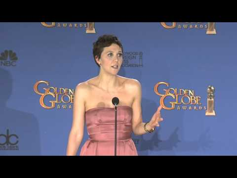Maggie Gyllenhaal: Golden Globe Awards Backstage Interview (2015)
