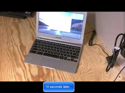 Chromebook 2012 XE303C12 Unboxing and first impression