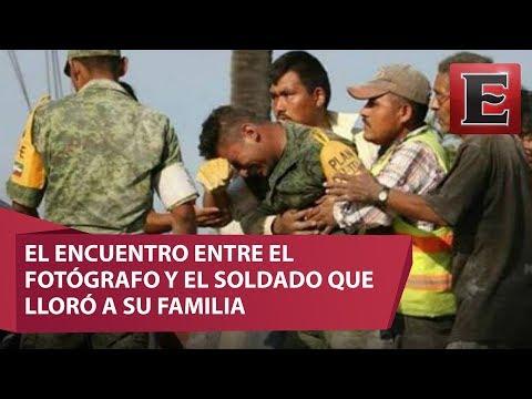 El soldado que rompió en llanto al no poder salvar una familia / Especial 19S, Los Héroes