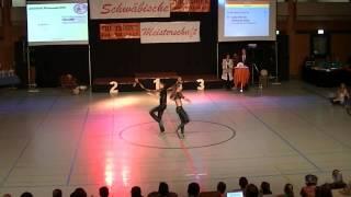 Lydia Herrich & Johannes Guha - Schwäbische Meisterschaft 2013
