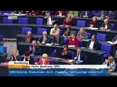 Bundestagsdebatte zur Personalerhöhung in der Alten- un ...