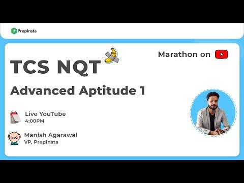 TCS NQT Aptitude Questions 1