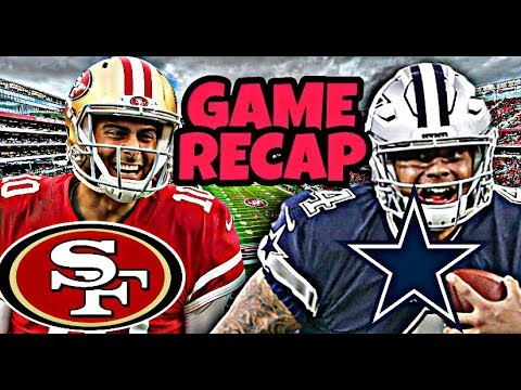 DallasCowboys vs 49ers!!! GAME RECAP! Defense Looking GREAT!!!