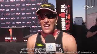 ربورتاج الرياضية|مراكش|ترياتلون| نهائي سباق  IRONMAN