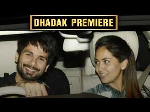 Dhadak Screening | Shahid Kapoor, Mira Rajput Watc