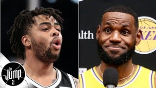 D'Angelo Russell says the LeBron-Anthony Davis Lakers look like a fantasy team | The Jump