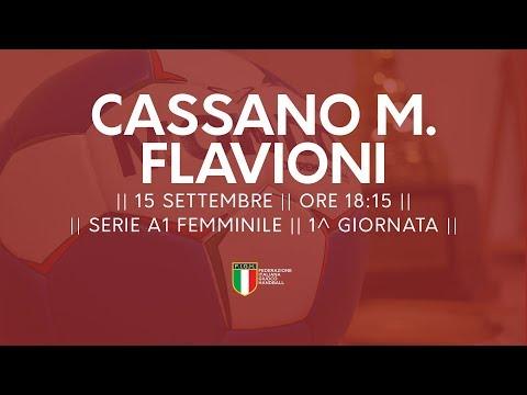 Serie A1 Femminile [1^ giornata]: Cassano Magnago - Flavioni 29-19 (видео)