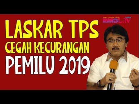 Laskar TPS Cegah Kecurangan Pemilu 2019