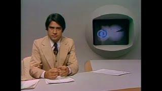 """Mudanças na censura federal em 1979 eram destacadas por Carlos Campbell, no """"Jornal Nacional"""", e por Sérgio Chapellin, no """"Jornal da Globo"""", incluindo entrevista com a ator e diretor Paulo José."""