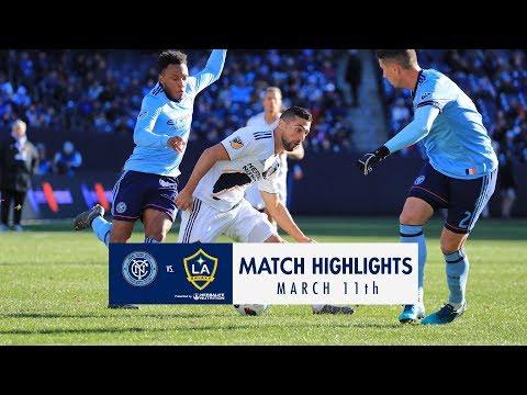 Video: HIGHLIGHTS: NYCFC vs. LA Galaxy | March 11, 2018