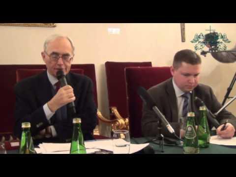 Vaticanum II - ciągłość czy zerwanie? Prof. Roberto de Mattei