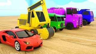 Video Learn Colors with Police Cars Dump Truck Strees Vehicles - Assembly Tyre Construction Vehicles MP3, 3GP, MP4, WEBM, AVI, FLV Februari 2019