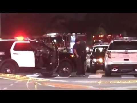 주말 LA 도 총격, 9명 사망  6.13.16  KBS America News