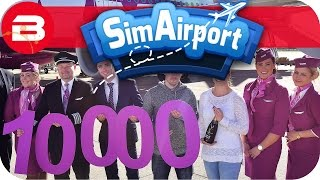 SIM AIRPORT Gameplay - 1,000 PASSENGERS!! Lets Play SIMAIRPORT Alpha #10