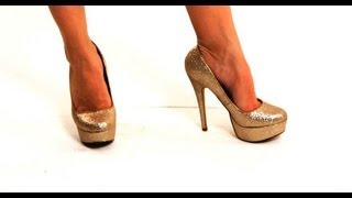 How To Walk In Heels With Flat Feet | High Heel Walking