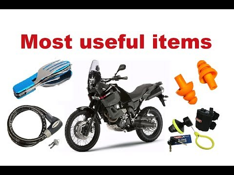 Top 10 Most Useful Items for Long Motorcycle Trip
