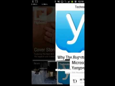 Flipboard Beta - przegląd aplikacji