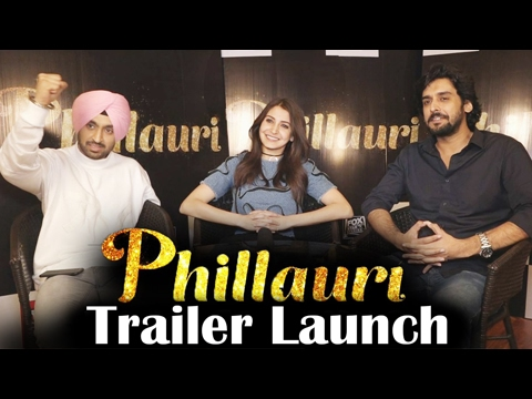 Phillauri Cast Interview | Anushka Sharma | Diljit