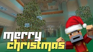 Minecraft Xbox 360: Santa Visits the Alpine Mansion! (Dan Lags Christmas Special!)