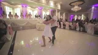 Ojciec panny młodej przerywa jej pierwszy taniec. Jego kolejny ruch, szokuje wszystkich gości!