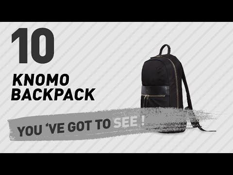 Knomo Backpack Great Collection, Just For You! // UK Best Sellers 2017
