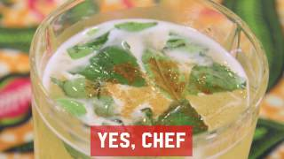 Cook the Book - Yes Chef Cocktail