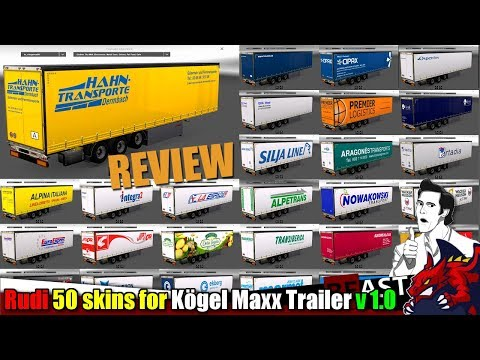 Rudi 50 Skins for Kögel Maxx Trailer v1.0