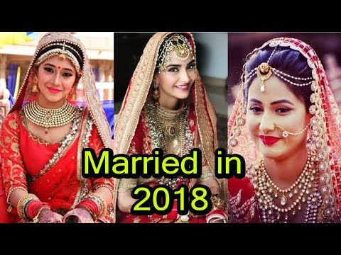 Television & Bollywood Who Got Married In 2018 | You Don't Know