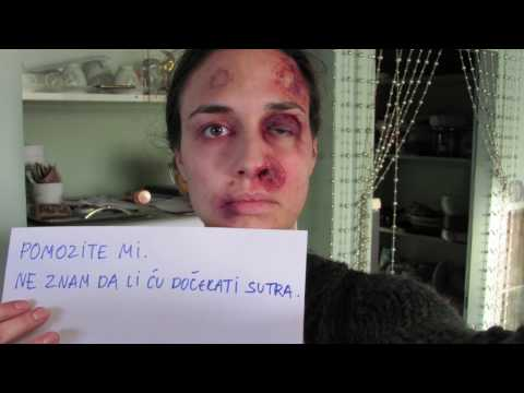 ABUSED WOMAN TAKES PICTURE EVERYDAY FOR A YEAR - TIME TO SAY ENOUGH