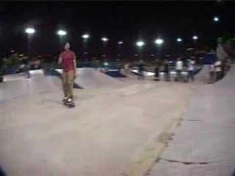 Mike Peterson Skates Mei Foo Skatepark