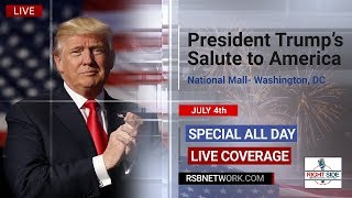 SALUTE TO AMERICA TRUMP SPEECH, Parade and Fireworks from DC 7/4/19