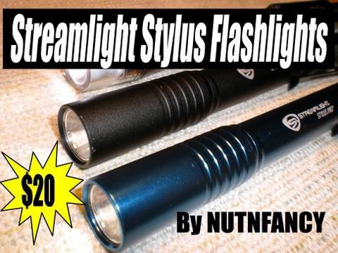 Streamlight - It's difficult to spend your money on an item more useful than a Streamlight Stylus Pro flashlight. It remains one of my favorite and most used little torche...