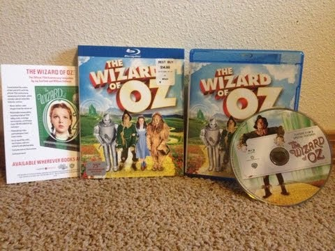 """The Wizard Of Oz' 75th Anniversary Edition Blu-ray Unboxing"