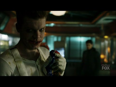 Jerome gets his mouth burned|Gotham|S4E16
