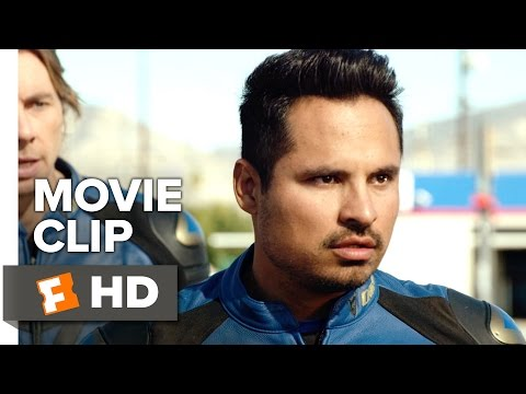 CHIPS Movie CLIP - Yoga Pants (2017) - Michael Peña Movie