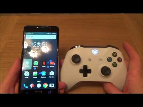 How To Connect a Bluetooth Xbox One S Controller to Android Mobile Cell PHONE