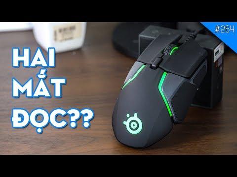 Trên tay chuột chơi game Steelseries Rival 600: Chuột tốt nhất 2018??
