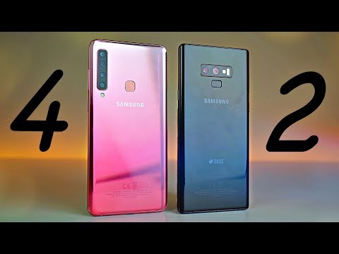 Samsung Galaxy A9 Quad Camera Vs Note 9! 4 Better Than 2?! - Review!