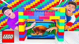 Video EXTREME LEGO WHATS IN THE BOX CHALLENGE! MP3, 3GP, MP4, WEBM, AVI, FLV Juli 2019