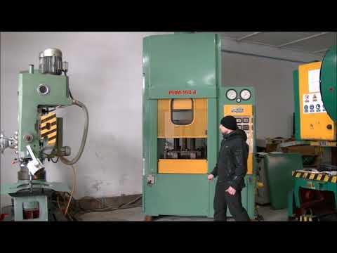 Prasa hydrauliczna bramowa Ponar-Żywiec PHM 160 D 1992