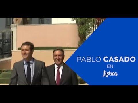"""Casado: """"El PP quiere tener voz en la política ext..."""