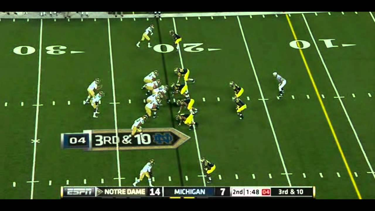 Michael Floyd vs Michigan 2011