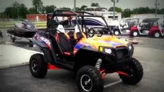 9. 2013 Polaris RZR XP 900 LE Orange Madness with EPS